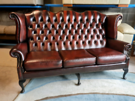 Chesterfield High Back Button 3 Seater Sofa 🤩excellent condition 🤩