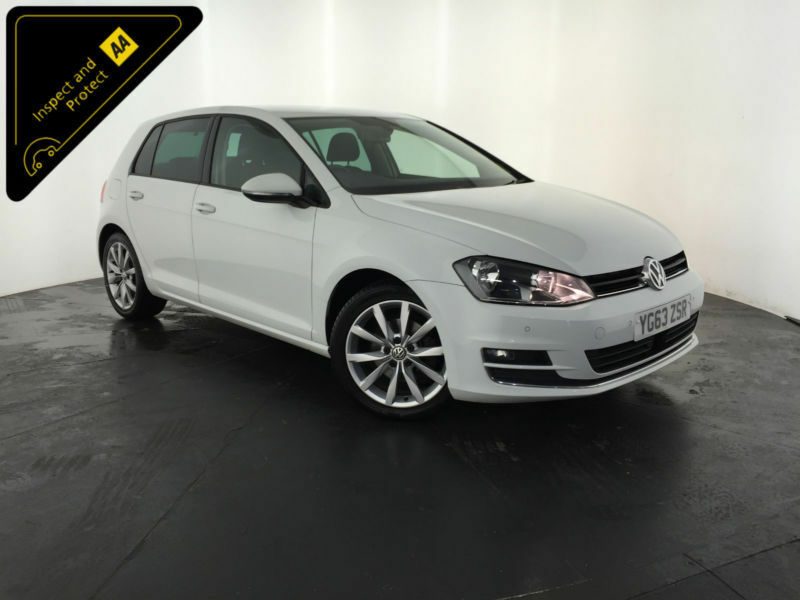 2013 63 VOLKSWAGEN GOLF GT BLUEMOTION TECH TDI 1 OWNER VW HISTORY FINANCE PX