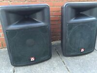 Peavey Impulse 500 speakers for PA/ DJ and band