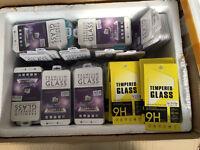 Wholesale job lot Tempered Glass Screen Protectors