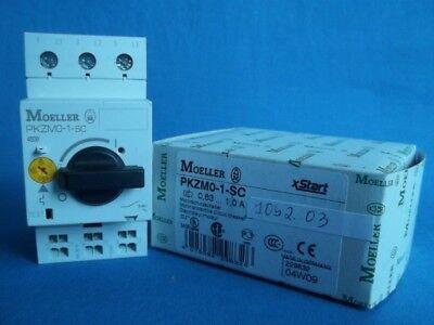 Moeller Pkzm0-1-sc Motor-protective Circuit Breaker 0.63-1.0 Amp New