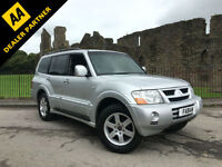 2004 Mitsubishi Shogun 3.2DI-D auto Elegance 7 SEATER FULL LEATHER FULL HISTORY