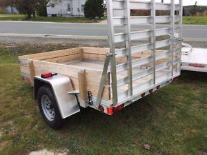 New aluminum 5x8 High Country Trailer