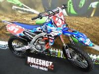 Yamaha YZF 250 Motocross bike