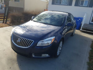 2011 Buick Regal CXL plus 4 winter tires