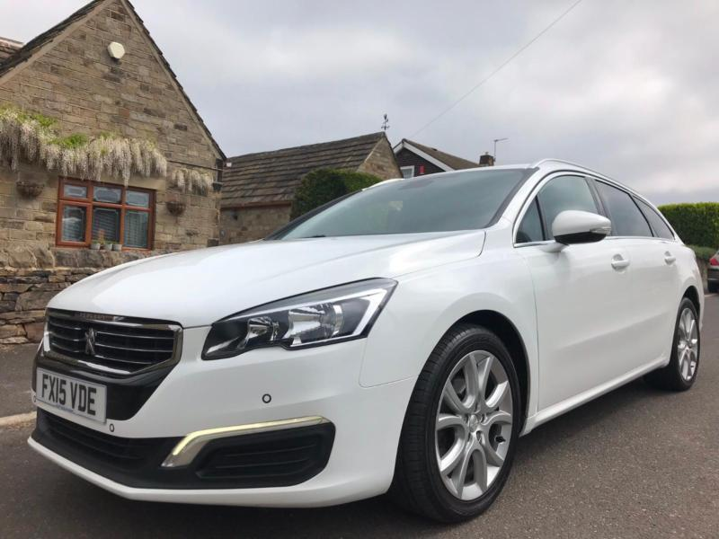 2015 15 Peugeot 508 Sw 20 Hdi Active 5dr White In Tingley West
