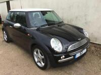 2004 Mini Cooper 1.6 ( Chili ) 1/2 Black Leather, Alloys, Cruise ** ONLY 59k **