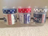 Apollo 11–13 commemorative glasses