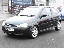Vauxhall Corsa 1.2i SXi, Black, 1 Years Mot, Hatchback