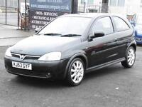 Vauxhall Corsa 1.2i SXi, Black, 1 Years Mot, Hatchback