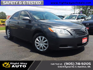2009 Toyota Camry LE   NEW TIRES   195Km   SAFETY & E-TESTED