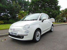 Stunning Ultra Low Mileage Diesel Fiat 500 1.3 MultiJet LOUNGE Long MOT Must See