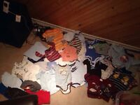 Lot of baby clothes (boy mostly some neutral)