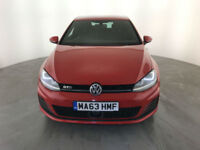 2013 63 VOLKSWAGEN GOLF GTD AUTOMATIC 1 OWNER VW SERVICE HISTORY FINANCE PX