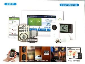 Smart Home Protection System with 24/7 monitoring
