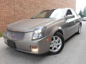2007 Cadillac CTS NAVIGATION, LEATHER, SUNROOF, LOADED, POWER G.