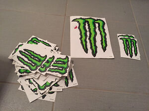 Monster decal stickers