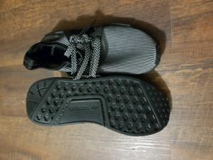 Black Adidas nmd shoes