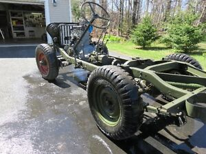 1953 M38 A1- Military Jeep