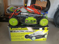 LawnMaster 10-Amp 18inch Electric Mower