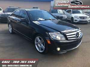 2010 Mercedes Benz C-Class C 350 4Matic....ONE OWNER...NO ACCIDE