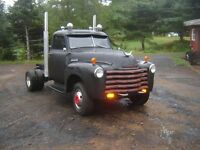 1951 chevy one ton dually..rat rod...hot rod...toy hauler