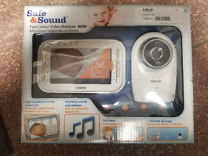 Safe and Sound - Full Colour Baby Moniter  (NEW)