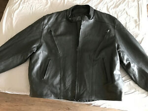 Men's Leather Riding Jacket