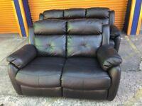 Harveys leather Visper reclining 3+2seater ex display model