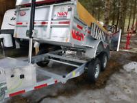 Dump trailer service
