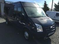 Ford Transit t430 ex lwb 17 seater only 15,135 miles 2014 63 reg