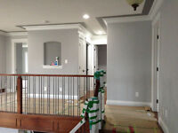 Painter, PAINTING the whole house, new construction or repaintin