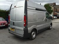 08 Vauxhall vivaro 2.0cdti 90ps high roof FSH 12m parts n labour 1owner