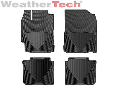 Weathertech All Weather Floor Mats For Toyota Camry   2012 2017   Black
