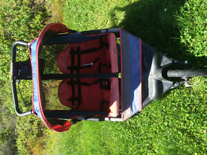 In-step Double Jogging Stroller