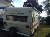 Taylor coach travel trailer