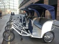 Rickshaw riders wanted