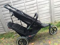 Phil & Teds sport double push chair