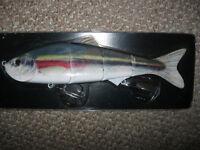 """Saltwater boat fishing 10"""" multisectional lure"""