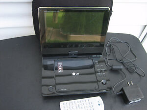 LG Portable DVD/CD Player & Sony Headphones