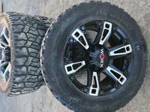 "20"" GMC 8 bolt rims and tires"