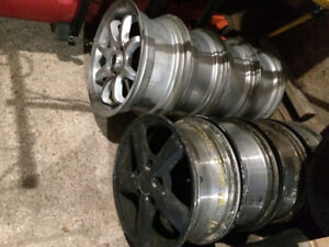 Used Honda rims, 16 Inch. 5 and 4 bolt pattern