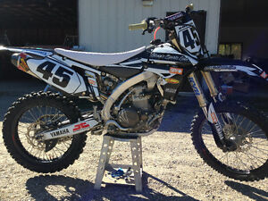 2012 Yamaha 450f PRICED FOR WINTER SALE!