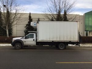 2011 Ford F450 Reefer truck with job