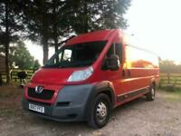 Peugeot Boxer XLWB & High Roof, Direct Fire Service with 14 service stamps!