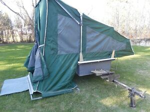 1996 Motorcycle Tent Trailer