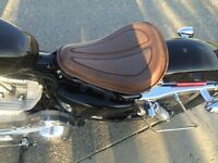 Solo Spring Saddle Seat For 2010 HD Sportster