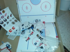Play Mobile Hockey Rink, perfect for budding NHL ers