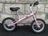 TooToo Pink Balance Bike