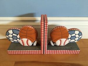 Really Cute Sports-Themed Bookends from Winners Homesense